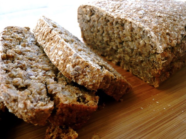 Sprouted Spelt Bread With Seeds Amy Chaplin