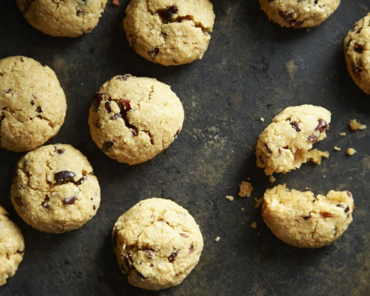 The Sprouted Kitchen's Almond meal cookies with coconut and cacao nibs