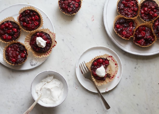 spiced red fruit tartlets 11